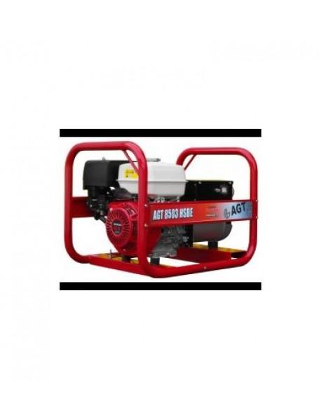 Generator de curent trifazat AGT 8503 HSBE  8KVA cu pornire electrica si motor honda GX390