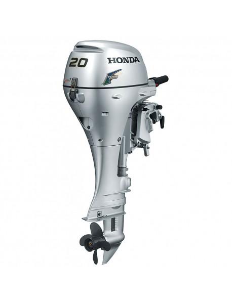 Motor de barca Honda BF20 LRTU, cizma lunga, 20 CP