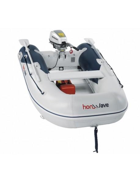 Barca pneumatica cu podina din aluminiu Honda Honwave T25-AE2, 2.5 metri