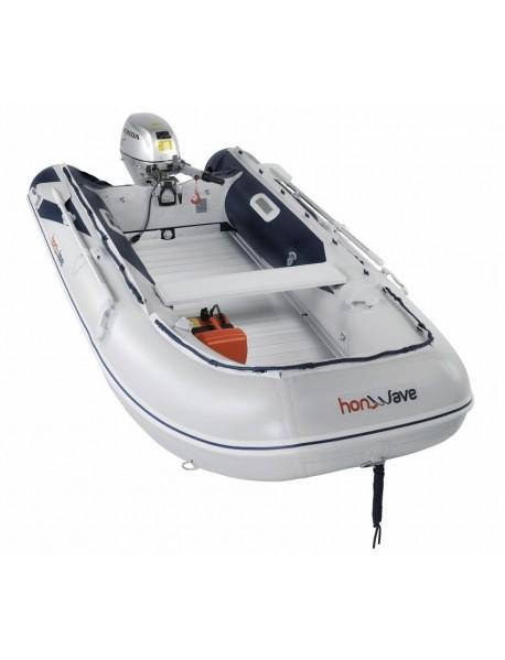 Barca pneumatica cu podina din aluminiu Honda Honwave T35-AE2, 3.53 metri