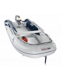 Barca pneumatica cu podina din aluminiu Honda Honwave T40-AE2, 3.95 metri