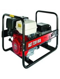 Generator de curent AGT 7201 HSB 6 KVA cu motor Honda