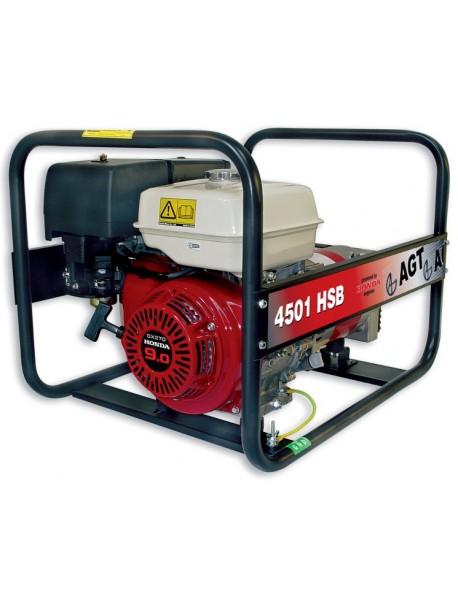 Generator de curent AGT 4501 HSB  4,2KVA cu motor Honda