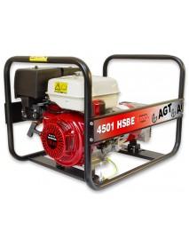 Generator de curent AGT 7201 HSBE  6KVA cu motor Honda