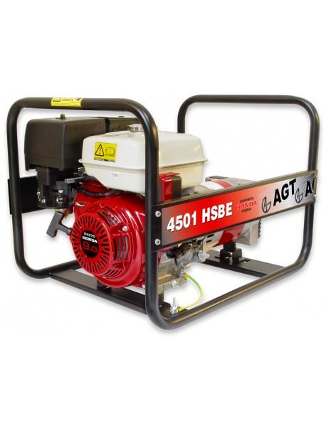 Generator de curent AGT 4501 HSBE 4,2KVA cu motor Honda