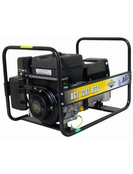 Generator de curent AGT 7201 BSBSE  6,1 KVA cu motor Briggs&Stratton