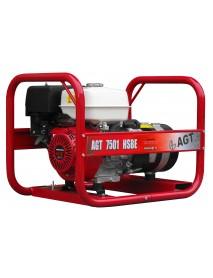 Generator de curent AGT 7501 HSBE 6,4KVA cu pornire electrica si motor Honda