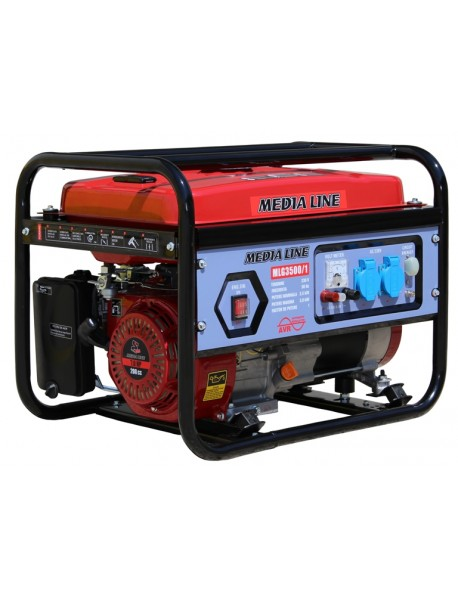 Generator de curent monofazat Media Line MLG 3500/1