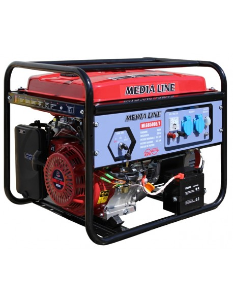 Generator de curent monofazat Media Line MLG 6500E/1