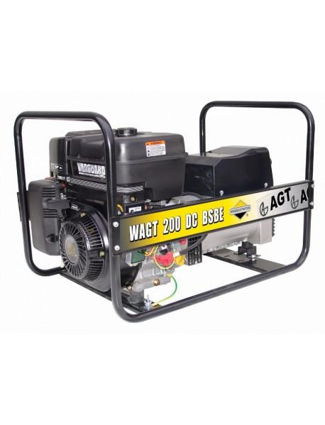 Generator de curent si sudura WAGT 200 DC BSBE 4KVA cu motor Briggs&Stratton si pornire electrica