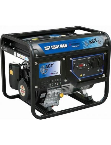 Generator de curent AGT 6501 MSB  5,7KVA cu motor Mitsubishi