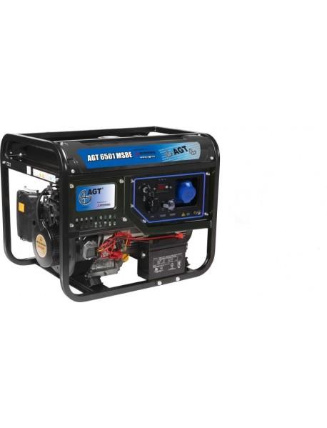 Generator de curent AGT 6501 MSBE 5,7KVA cu pornire electrica si motor Mitsubishi