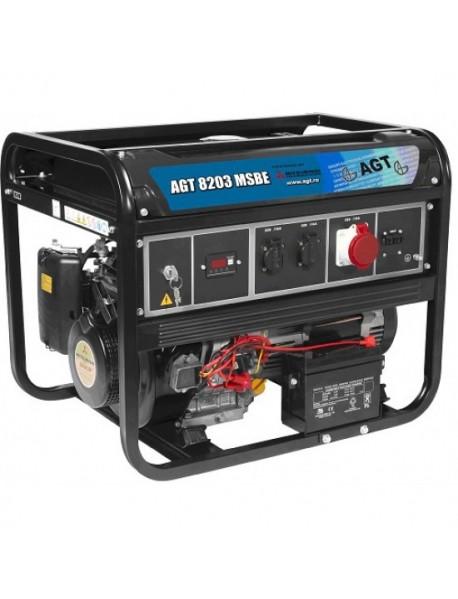Generator de curent AGT 8203 MSBE  7KVA cu motor Mitsubishi
