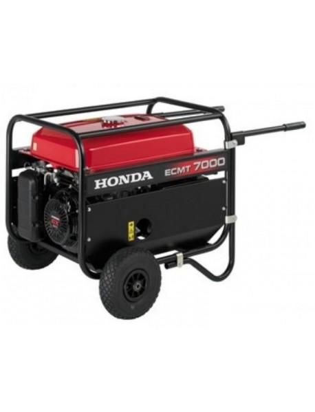 Generator de curent trifazat Honda ECMT7000K1,cu carucior