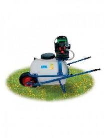 Pulverizator pe roti (tip roaba ) Barrow Spray ,cu motor 2T KM26