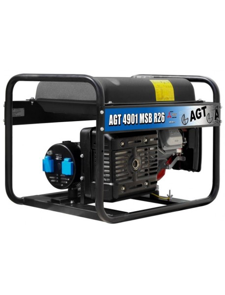 Generator de curent AGT 4901 MSB  4,4KVA cu motor Mitsubishi