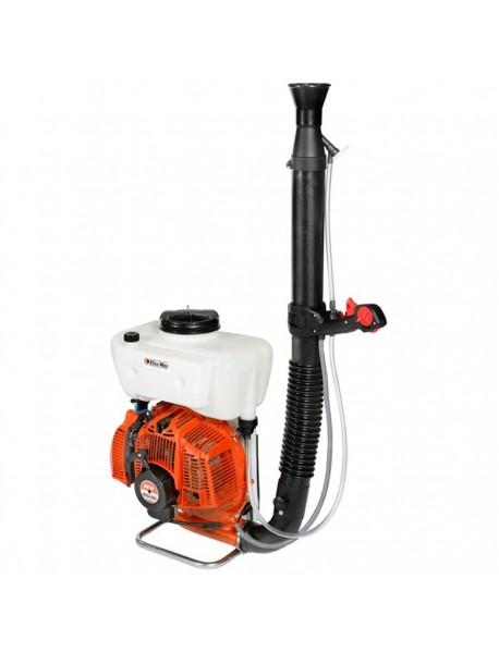 Atomizor Oleo Mac MB800 cu o capacitate cilindrica: 72.4 CMC, putere motor: 5 CP, greutate: 12.5 Kg