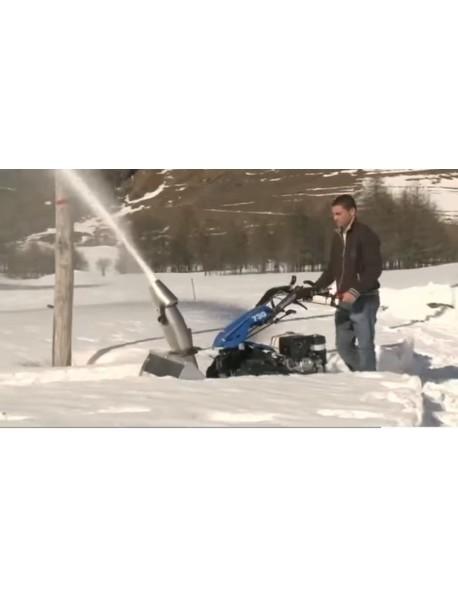 Freză de zăpadă BCS cu turbină, lățimea de lucru: 70 cm, puterea minimă necesară: 6,3 kW