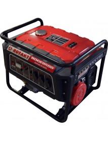 Generator ROTAKT ROGE8500 cu motor 4 timpi, capacitate cilindrica: 439 CmC, putere maxima motor: 15 CP
