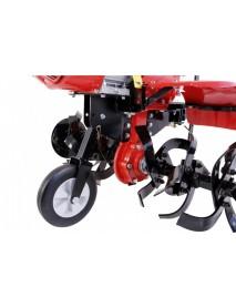 Motocultor LONCIN LC1200 (2+1) 8CP cu roti +plug+rarita+prasitoare+roti metalice