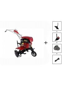 Motocultor LONCIN LC750 7CP + roti 4.00-8 +plug + rarita