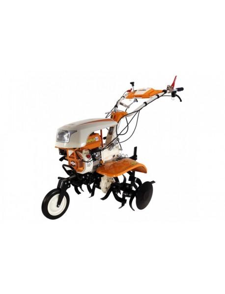 Motocultor O-MAC NEW 1000-S 8CP cu roti 4.00-8 + plug +rarita+prasitoare