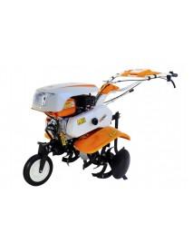 Motocultor O-Mac NEW 750-S 7CP cu roti 4.00-8 +plug +rarita + roti metalice