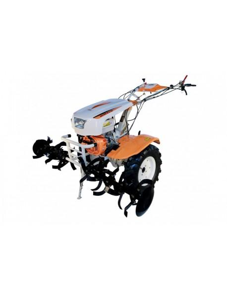Motocultor O-MAC NEW 1350-S 13CP cu diferential +roti cauciuc +plug reversibil