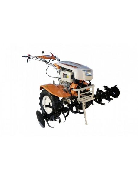 Motocultor O-MAC NEW 1350-S diesel 12CP cu pornire +diferential +roti 6.0-12