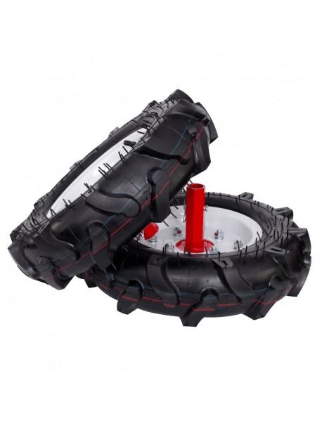 Motosapa ENERGO H75, roti cauciuc, rarita,  roti metalice, cilindree 212 cm3, putere nominală: 7 CP, capacitate rezervor: 3.6 L