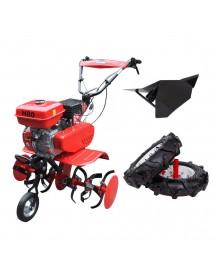 Motosapa ENERGO H80, roti de cauciuc, rarita, cilindree: 212 cm3, putere nominală 7 CP, capacitate rezervor 3.6L