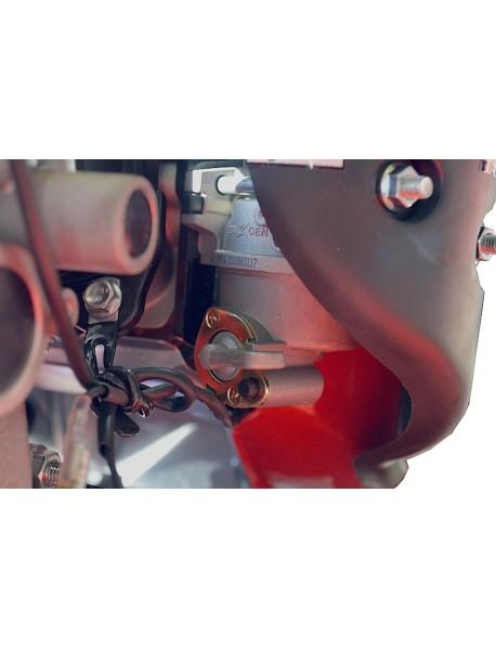 Motosapa ROTAKT ROG75 cu roti cauciuc 5.00-8