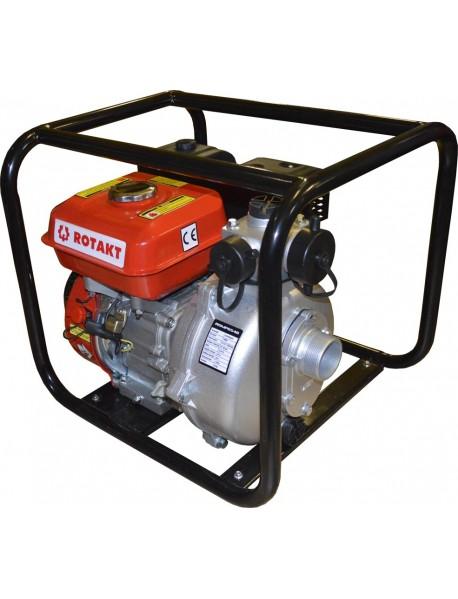 Motopompa de apa ROTAKT ROMP6548, capacitate combustibil: 3.6 L, putere maxima motor: 6.5 CP, capacitate cilindrica: 196 cmc