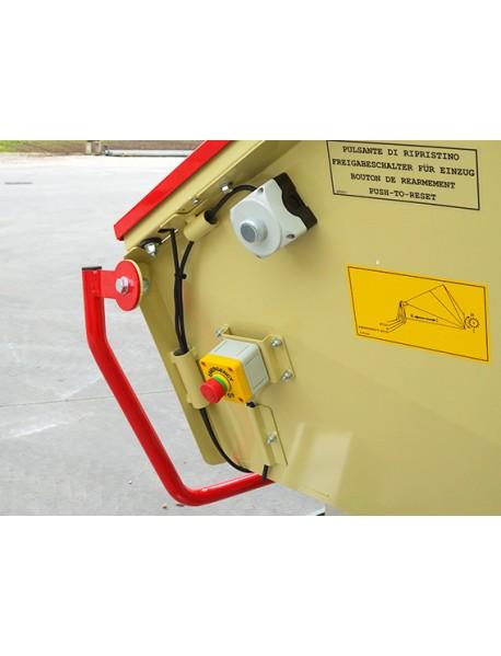 Tocator de crengi R255EHP20AN cu motor electric trifazic, putere 20cp