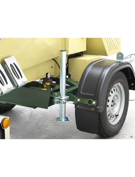 Tocator de crengi R280BHP21OTRGN cu carucior omologat de transport si motor Honda GX630