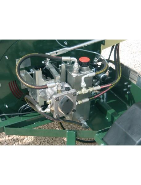Tocator de crengi R280DL26OTRGN cu motor diesel Kohler si carucior omologat rutier
