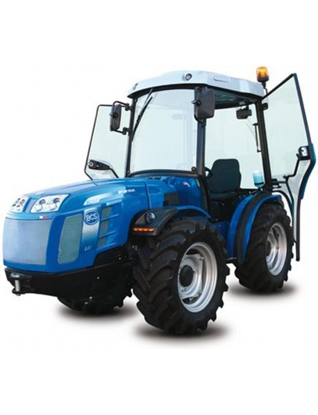 Tractor BCS VALLIANT 600 AR, articulat,  24 de trepte: 12 înainte și 12 în revers, blocaj diferențial posterior și anterior, greutate: 1510 kg