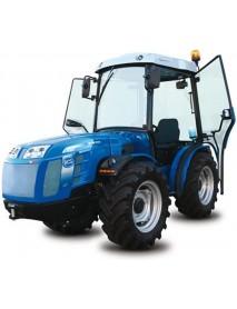 Tractor BCS VALLIANT 600RS, roti viratoare, 24 viteze: 12 înainte și 12 în revers, blocaj diferențial posterior, 1 distributor hidraulic