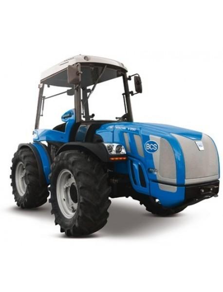 Tractor BCS VOLCAN K105 RS REV,roti viratoare, platforma reversibila, motor DIESEL KUBOTA V3800, servo direcție, lungime tractor : 3155 mm