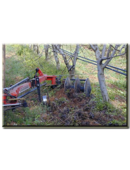 Cultivator cu discuri Ecol.Lat pentru plantatii viticole si pomicole