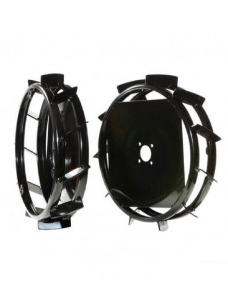Roti metalice BCS 58cm, diametrul rotilor este de 58cm