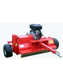 Tocator vegetal /mulcher model VT cu motor propriu si timona de tractare