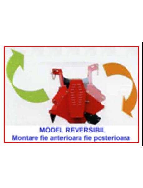 Tocator vegetal/mulcer reversibil model YT ,cu deplasare laterala hidraulica